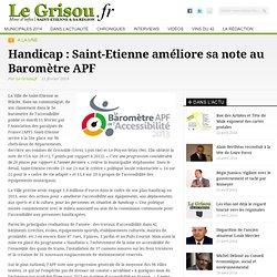 Handicap : Saint-Etienne améliore sa note au Baromètre APF - Le Grisou