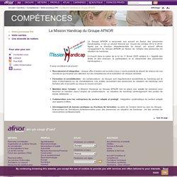 La Mission Handicap du Groupe AFNOR / Notre promesse RH / Compétences / Carrières