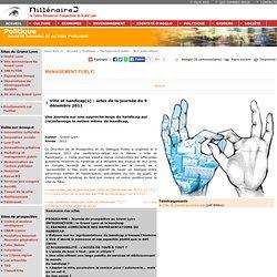 Ville et handicap(s) : actes de la journée du 9 décembre 2011