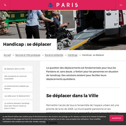 Handicap : se déplacer – Paris.fr