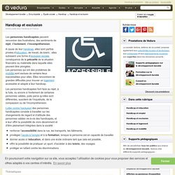 Handicap et exclusion