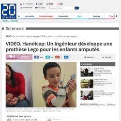 VIDEO. Handicap: Un ingénieur développe une prothèse Lego pour les enfants amputés