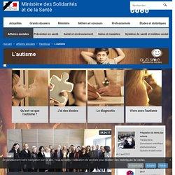 L'autisme - Handicap - Ministère des Solidarités et de la Santé