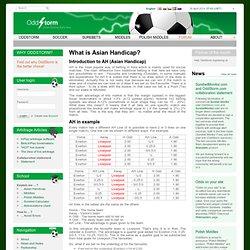Азиатский Гандикап - OddStorm.com – Футбольные коэффициенты, Азиатский Гандикап, Калькуляторы, Вилки, Middles