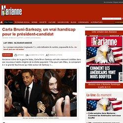 Carla Bruni-Sarkozy, un vrai handicap pour le président-candidat
