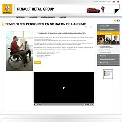 Emploi et handicap - Renault Retail Group Corporate