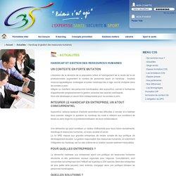 Handicap et gestion des ressources humaines