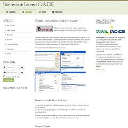 Site Perso de Laurent CLAUDE - Handicap - DSpeech : une synthèse vocale en français !