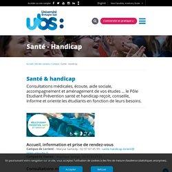 Médecine préventive - Université Bretagne Sud