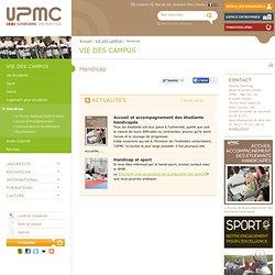 Handicap - Université Pierre et Marie CURIE