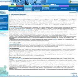 Handicap13 - Cadre législatif et reglementaire