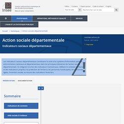 Personnes handicapées−Action sociale départementale