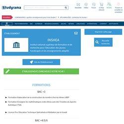 INSHEA (Institut national supérieur de formation et de recherche pour l'éducation des jeunes handicapés et les enseignements adaptés)