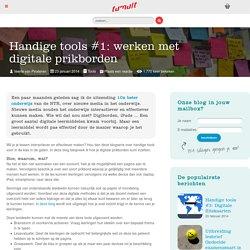 Handige tools #1: werken met digitale prikborden