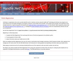 Handle.Net Registry