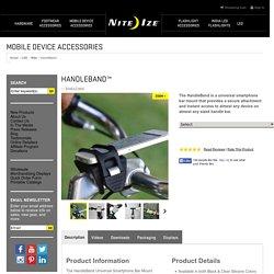 Handleband - Universal Smartphone Bar Mount