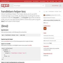 handlebars-helper-less