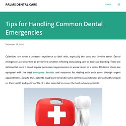 Tips for Handling Common Dental Emergencies