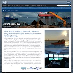 All You Need To Know About Anchor Handling Simulators