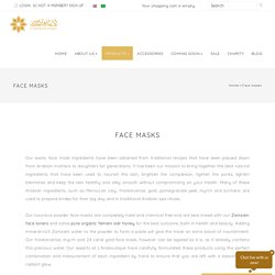 Luxury Face Masks – Handmade Arabian Face Masks Online