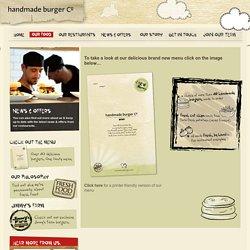 Handmade Burger Co » Our Menu