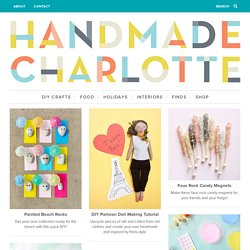 Handmade Charlotte | DIY Crafts and Design for Kids