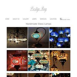 Buy Handmade Glass Light - Prestige Rug