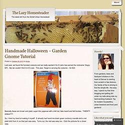 Handmade Halloween – Garden Gnome Tutorial « Schell subUrban Homestead