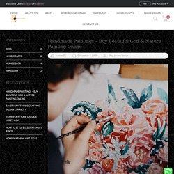 Handmade Paintings - Buy Beautiful God & Nature Painting Online