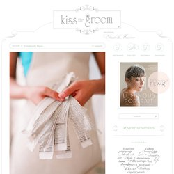 Handmade Paper… | kiss the groom