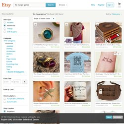 the hunger games on Etsy, a global handmade and vintage marketplace.