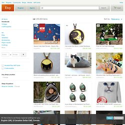 cat on Etsy, a global handmade and vintage marketplace.