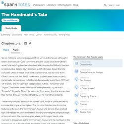 The Handmaid's Tale: Chapters 1–3, page 2