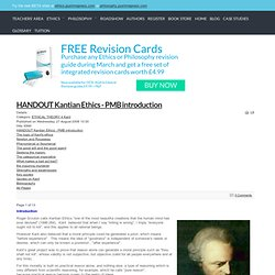 kant and deontological theory essay Essays on deontology we have a brief summary 3 key ethical problems 3 deontological ethics 4 general theory 4 immanuel kant's categorical imperative 5.