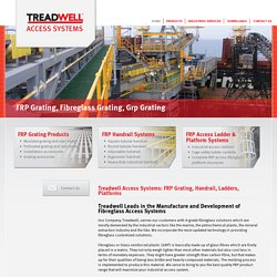 FRP Grating, Handrail, Ladders, Platforms, Structures, Unistrut