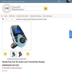 Hands Free Audio Car Kit