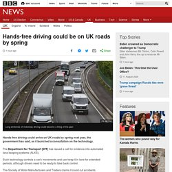 Hands-free driving could be on UK roads by spring