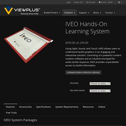 IVEO Hands-On Learning System - ViewPlus