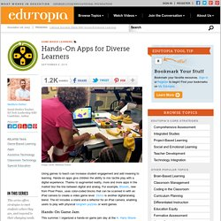 Hands-On Apps for Diverse Learners