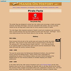 Hands On History - Pirate Facts