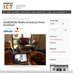 HANDSON Radio broadcast from Scotland – Handson ICT