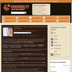HandSteady : la tasse à poignée pivotante utile en cas de handicap