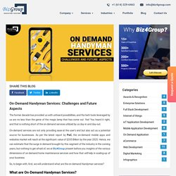 On-Demand Handyman Services: Challenges and Future Aspects