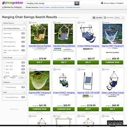 Hanging Chair Swings Search Results - Find cheap prices for Valencia Resin Wicker/ Steel Frame Hanging - PriceGrabber