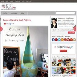 Cocoon Hanging Seat - Free Knitting Pattern