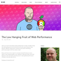 The Low Hanging Fruit of Web Performance - The Media Temple Blog