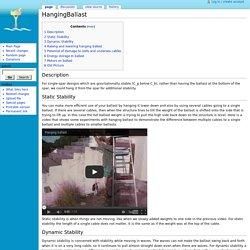HangingBallast - Seasteading