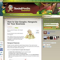 How to Use Google+ Hangouts for Your Business