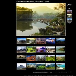 Asia - West Lake (Xihu), Hangzhou - China, Landscapes, photos of landscapes