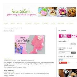 Haniela's: Cameo Cookies